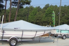 Carolina Skiff 218 DLV & 198 DLV, Custom Fit, Poly-Guard, Haze Gray