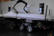 2013 Centurion Enzo FX 22 w/Swim Platform, Custom Fit, Poly-Guard, Haze Gray