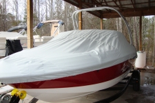 2012 Chaparral H2O 18 w/Tower, Custom Fit, Poly-Guard, Haze Gray
