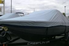 2011 Crestliner Sport Angler 1750, Custom Fit, Poly-Guard, Haze Gray