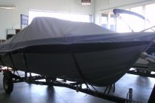 2011 Crestliner Kodiak 1600 SC, Custom Fit, Poly-Guard, Haze Gray