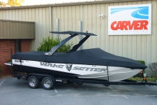 2009 Malibu Wakesetter 23 w/Illusion Tower, Custom Fit, Poly-Guard, Black