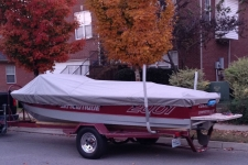 1985 Correct Craft Ski Nautique 2001 - Custom Fit Boat Cover
