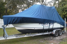Walk Around Cuddy Boats w/Hard Tops and Center Console Boats w/T-Tops, Specialty, Poly-Guard, Navy