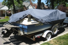 1985 Ebko Monte Carlo, Styled to Fit, Low Profile Cuddy Cabin