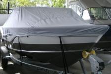2011 Lund 1750 Tyee, Custom Fit, Poly-Guard, Haze Gray