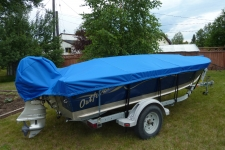 Lund Outfitter, Styled to Fit, Poly-Guard, Caribbean Blue