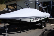 2010 Malibu Wakesetter VLX 21, Custom Fit, Poly-Guard, Hazy Gray