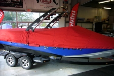 2011 Malibu Wakesetter 247, Custom Fit, Poly-Guard, Red