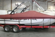 2011 Malibu Wakesetter VTX, Custom Fit, Poly-Guard, Burgundy