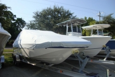 2011 Nautic Star 210 DC, Custom Fit, Poly-Guard, Haze Gray