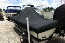 Center Console Bay Style Fishing Boat w/Shallow Draft Hull - Styled to Fit Boat Cover