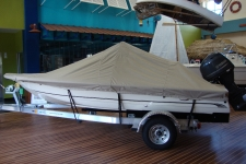 2012 Scout 177 SF, Custom Fit, Poly-Guard, Haze Gray