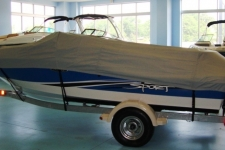 2011 Sea Ray 185 Sport, Custom Fit, Poly-Guard, Haze Gray