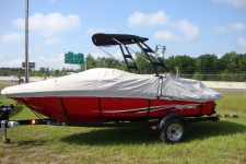 2012 Sea Ray 185, Custom Fit, Poly-Guard, Haze Gray