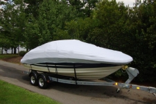 2012 Sea Ray 220 Sundeck, Custom Fit, Poly-Guard, Haze Gray