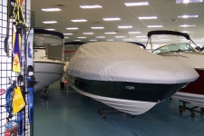 Sea Ray 240 Sundeck, Custom Fit, Poly-Guard, Haze Gray