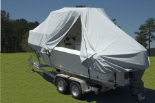 Walk Around Cuddy Boats w/Hard Tops and Center Console Boats w/T-Tops, Specialty, Poly-Guard, Haze Gray