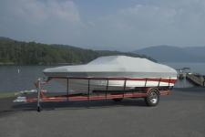 Mariah V-Hull Runabout Boat, Custom Fit, Poly-Guard, Haze Gray