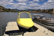 Specialty, V-Hull Runabout with Tower, Poly-Guard, Yellow
