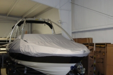 V-Hull Runabout Boat w/Tower, Specialty, Poly-Guard, Haze Gray