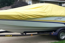 1998 Baja Islander 232 - Styled to Fit Cover
