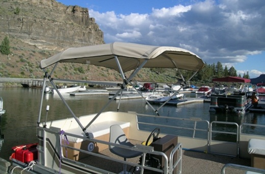 Self Supporting Top Square Tube (Pontoon)