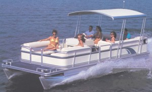HT pontoon color 300x182 Pontoon Boat Covers