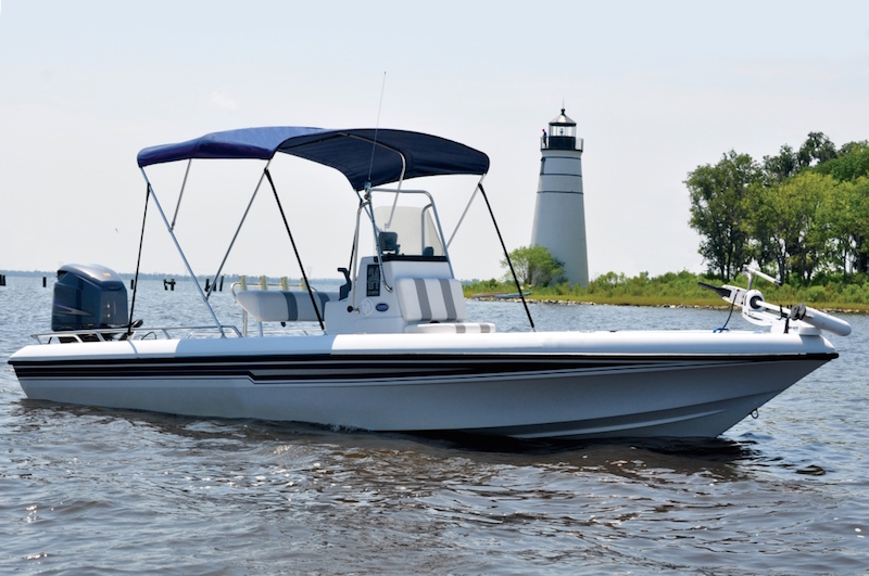 Round Tube Bimini Top – Carver by Covercraft