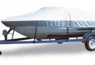Flex Fit Boat Cover (boat on trailer)